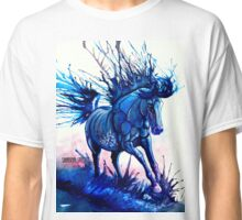 Splash Dance Running Through Water Horse Classic T-Shirt