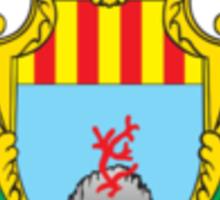 Coat of Arms of Alghero, Sardinia  Sticker