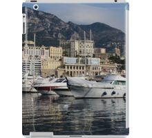 Monte Carlo Harbor, Monaco, French Riviera  iPad Case/Skin