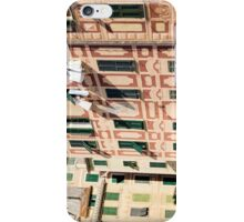 The lines and shadows of the Italian Riviera iPhone Case/Skin
