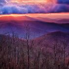 Blue Ridge Sunrise by Kathy Weaver