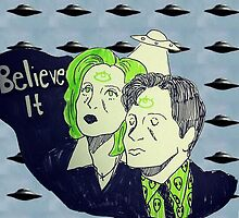 I Want To Believe by DamnFineCoffee