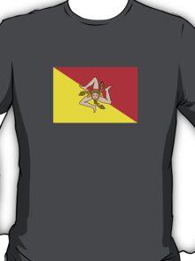 Flag of Sicily  T-Shirt