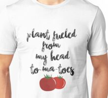 Plant Fueled - Vegan/Vegetarian  Unisex T-Shirt