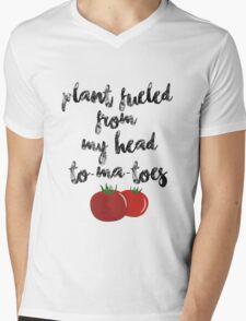 Plant Fueled - Vegan/Vegetarian  Mens V-Neck T-Shirt