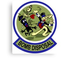 WWII Bomb Disposal Canvas Print
