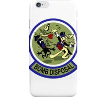 WWII Bomb Disposal iPhone Case/Skin
