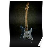Fender Stratocaster Full Texture Poster