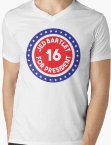 Jed Bartlet 2016 Ring Mens V-Neck T-Shirt