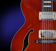 Ibanez AF75 Hollowbody Electric Guitar Front View by koping