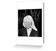 Laura Palmer  Greeting Card