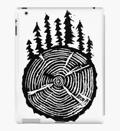 the wisdom is in the trees iPad Case/Skin