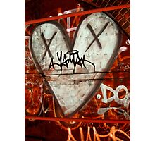 I Heart NYC Style Graffiti Photographic Print