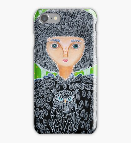 Mrs. Owl iPhone Case/Skin