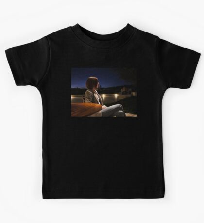 The Girl at the Cafe Kids Tee