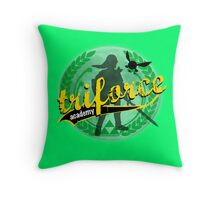 Tri-Force Throw Pillow