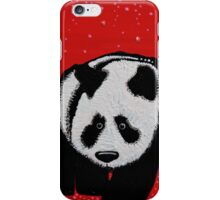 A Panda For Christmas iPhone Case/Skin