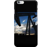 Pumping the Industrial Nectar iPhone Case/Skin