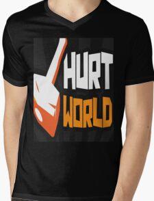 HurtWorld Casual T-Shirt Mens V-Neck T-Shirt