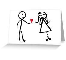 Love Hearth Greeting Card
