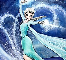 Elsa- Let it Go by ArtbyJoshua