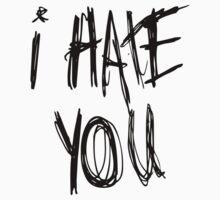 I hate you by sergiovarela