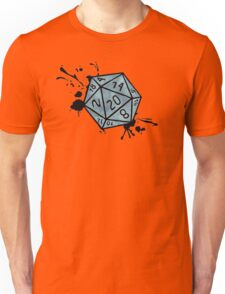 Dice Splat Unisex T-Shirt