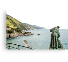St Peter looks over the Mediterranean Canvas Print