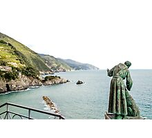 St Peter looks over the Mediterranean Photographic Print