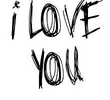 I love you by sergiovarela