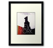 NEW YORK IV Framed Print