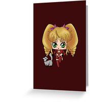 Chibi Tiara Greeting Card
