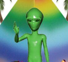 Rad Alien Sticker