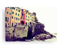 Manarola, Liguria, Italy Canvas Print