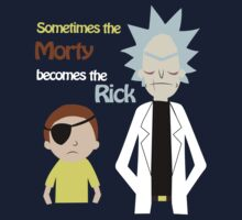 Evil Rick and Morty by Zet Seal