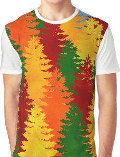 Autumn Trees Graphic T-Shirt