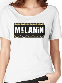 Melanin black gold  Women's Relaxed Fit T-Shirt
