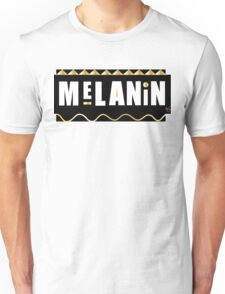 Melanin black gold  Unisex T-Shirt