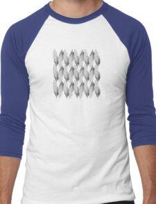 on the wire | white Men's Baseball ¾ T-Shirt