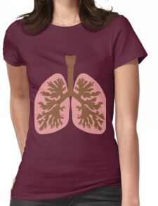 LUNGS Womens Fitted T-Shirt