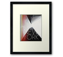 NEW YORK V Framed Print