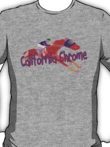 Fun California Chrome Design T-Shirt