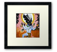 Alien Queen Shiva Framed Print