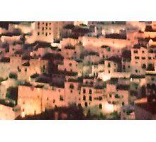 citadel - spanish roof-tops (crop) Photographic Print