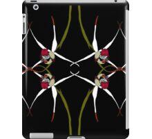 Exotic Native Orchid Mirror Design iPad Case/Skin