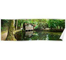 Boathouse, Alfred Nicholas Gardens, Melbourne, Victoria, Australia Poster