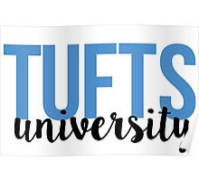 Tufts University Poster