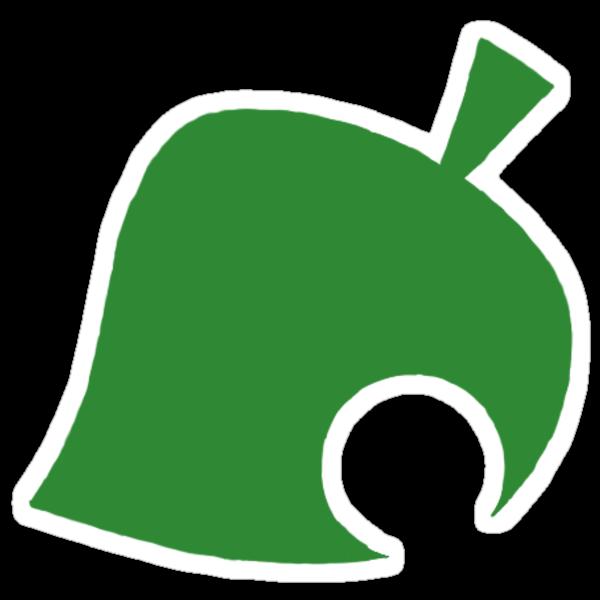 """animal crossing logo"" Stickers by darkcosmos   Redbubble"