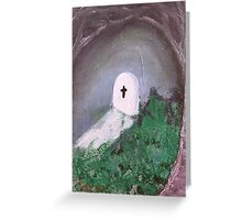 Under The Willow Tree Greeting Card
