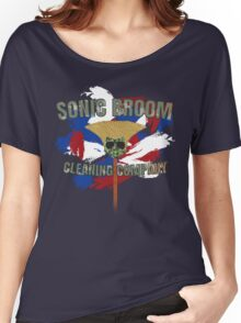 Sonic Broom Women's Relaxed Fit T-Shirt